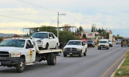 ¡Hallaron a un hombre ejecutado-encobijado en la cajuela de un auto en Guadalupe!