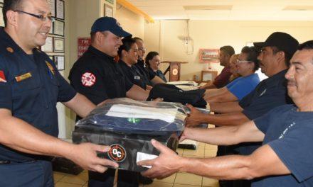 ¡Reafirman elementos de Protección Civil Municipal su compromiso de salvaguardar a la ciudadanía!