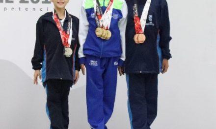 ¡Aguascalientes suma dos platas y dos bronces en gimnasia rítmica!