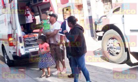 ¡Teléfono celular provocó un incendio en una casa en Lagos de Moreno: padre e hijos resultaron lesionados!