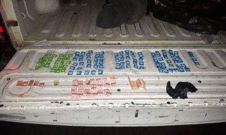 ¡Elementos de la PEP detuvieron a un sujeto con 148 dosis de diversas drogas en Jerez, Zacatecas!