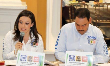 ¡Afianza Martha Márquez propuestas de economía y empleos en el diálogo político organizado por el CCE!