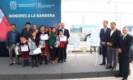 ¡Alumnos de Aguascalientes participaron en el Concurso Nacional de Pintura Infantil El Niño y La Mar!