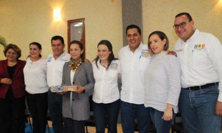 ¡Josefina Vázquez Mota visita Calvillo y respalda proyecto de Javier Luévano!