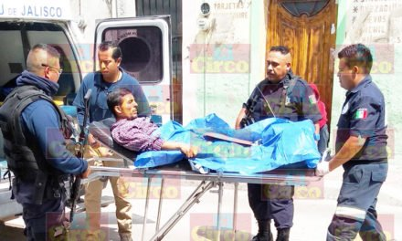 ¡Joven resultó lesionado al intentar ejecutarlo a balazos en Lagos de Moreno!