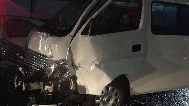 ¡Carambola entre tres vehículos dejó saldo de un lesionado en Aguascalientes!