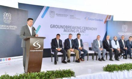 ¡Anuncia Cooper Standard su crecimiento en Aguascalientes!
