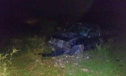 ¡Volcadura de una camioneta en Villanueva, Zacatecas, dejó 1 muerto y 3 lesionados!