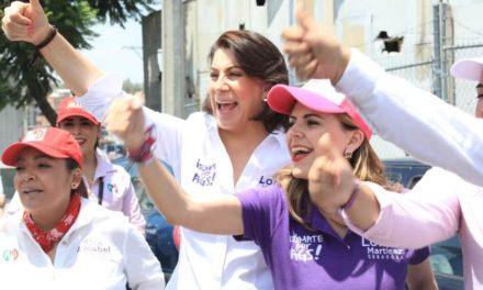 ¡Respalda ONMPRI campaña de Lorena Martínez rumbo al Senado!