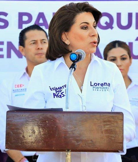¡Mejores leyes para tu tranquilidad y defensa ofrece Lorena Martínez!