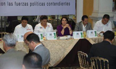 ¡Ratifica Lorena Martínez ante el CCE compromiso con el impulso al desarrollo económico y la libre empresa!