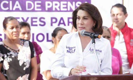¡Luchemos juntos contra la violencia familiar y de género: Lorena Martínez!