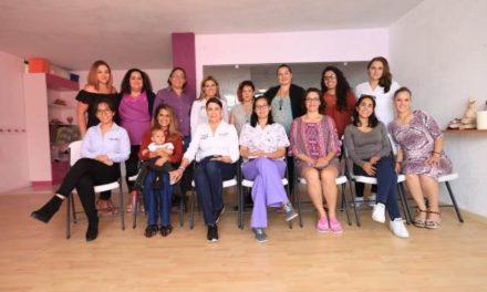 ¡Impulsará Lorena Martínez reformas legales y políticas públicas para incrementar lactancia materna!