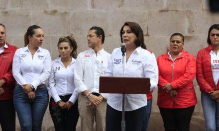 ¡Defendamos la legalidad de la elección: Lorena Martínez!