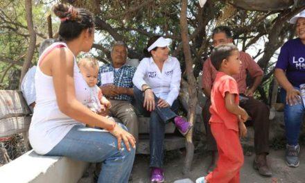 ¡Legisladores del PRI serán principales aliados de comunidades rurales: Lorena Martínez!