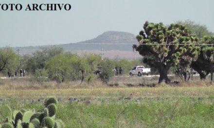 ¡Putrefacto y devorado por animales carroñeros encontraron el cuerpo de un hombre en Sombrerete!