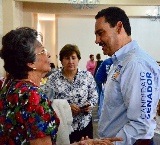 ¡De frente a la gente y con visión a futuro construiremos un México mejor: Toño Martín del Campo!