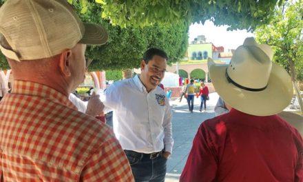 ¡Contarán con Toño Martín del Campo los municipios del interior!