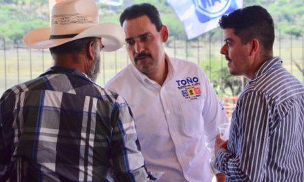¡Promoverá Toño Martín del Campo tecnificación del sector agropecuario para elevar la productividad!