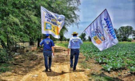 ¡Impulsar la productividad de los campesinos, otro más de mis compromisos: Toño Martín del Campo!