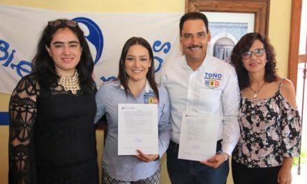 ¡Toño Martín del Campo apoya el pacto por la primera infancia!