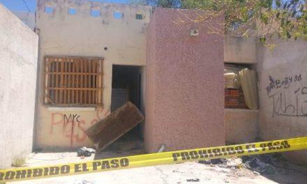 ¡Desconocido escapó por la puerta falsa en una casa abandonada en Aguascalientes!