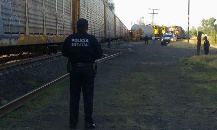 ¡Un hombre murió atropellado por el tren en Rincón de Romos, Aguascalientes!