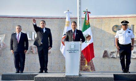 ¡MOS presentó al nuevo titular de la Policía Estatal en Aguascalientes!