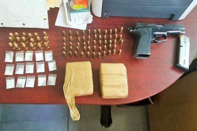 ¡Aseguraron PEP y Policía Municipal droga, cartuchos y un arma en Fresnillo; hay tres detenidos!