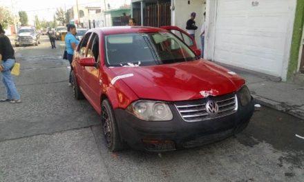 ¡Tras espectacular operativo y persecución detuvieron a 4 sujetos acusados por daños y amenazas con arma de fuego en Aguascalientes!