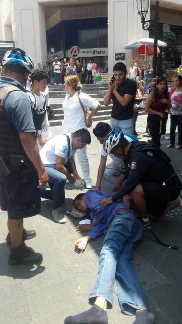 ¡Hombre se intoxicó con raticida en la Zona Centro de Aguascalientes!