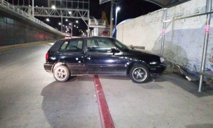 ¡Veloz automovilista atropelló a 4 mujeres en una parada de camiones urbanos en Aguascalientes!