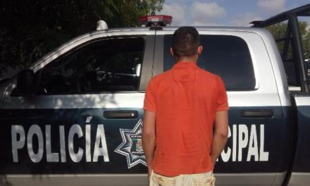 ¡Tras espectacular persecución por la Zona Centro de Aguascalientes detuvieron a reincidente delincuente con droga!