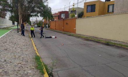 ¡Ciclista murió atropellado por una pipa en Aguascalientes!