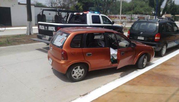 ¡Ancianita falleció a bordo de un vehículo en Pabellón de Arteaga, Aguascalientes!