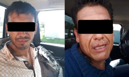 """¡Detuvieron a 2 distribuidores de droga con 300 dosis de """"crystal"""" en Jesús María, Aguascalientes!"""