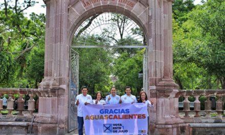 ¡Campaña cercana, limpia y propositiva la de candidatos de la coalición Por México al Frente en Aguascalientes!
