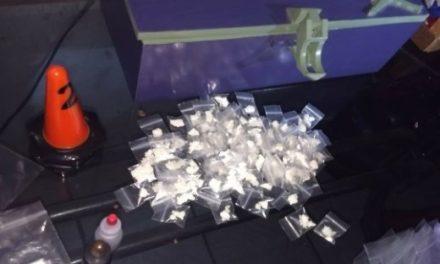 ¡Agentes federales detuvieron a pareja que vendía drogas en una casa en Aguascalientes!