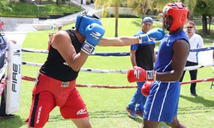 ¡Selección de Boxeo Olímpico de Cuba ofreció exhibición en Aguascalientes!