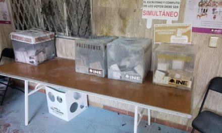 ¡2 sujetos pretendieron incendiar dos casillas electorales en Aguascalientes!