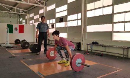 ¡El halterista Jonathan Muñoz, ejemplo para los jóvenes hidrocálidos!