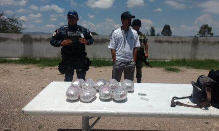 ¡Policías federales y militares aseguraron 2 cargamentos de drogas en Aguascalientes!
