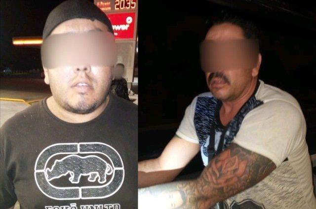 ¡Detuvieron a vendedor de drogas y a 2 sujetos con armas de fuego y uniformes en Aguascalientes!