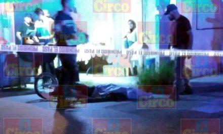 ¡Ciclista fue ejecutado de un balazo en el pecho en Lagos de Moreno!