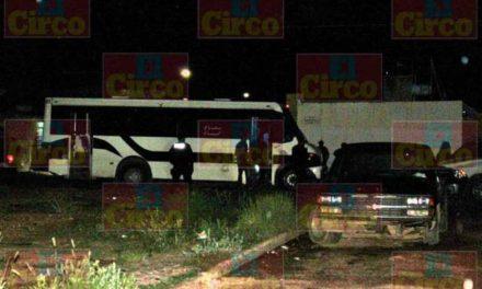 """¡Ejecutaron al chofer """"El Maya"""" a bordo de un camión urbano en Fresnillo!"""