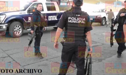¡Sujetos con armas de fuego de grueso calibre atacaron la Comandancia de Policía de Ojocaliente!