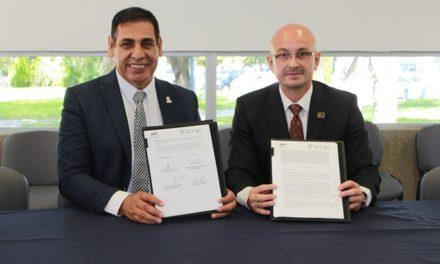 ¡Firman convenio de colaboración IESPA y Universidad Politécnica!