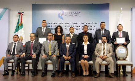 ¡Agentes investigadores y del Ministerio Público son clave para garantizar paz social y seguridad!