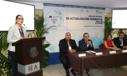 ¡Encabeza IEA jornadas regionales de actualización normativa 2018 a favor de la educación superior!