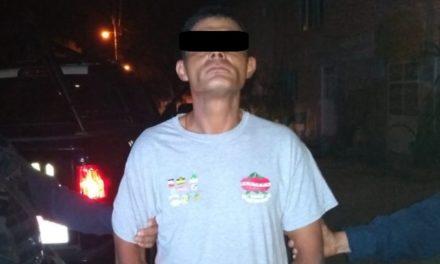 ¡Reincidente delincuente originario de Jalisco saqueó la residencia de un militar en Aguascalientes!